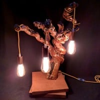 BoGaLeCo.com / Ligths / Lamps / reclaimed wood / Rana Gast lampe