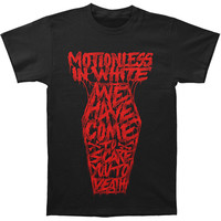 Motionless In White Men's  Coffin T-shirt Black