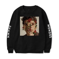 BTS Hip Hop Women And Men Clothes 2018 Capless Hoodies Sweatshirts Harajuku Shawn Mendes  Tops Kawaii Harajuku Plus Size 4XL