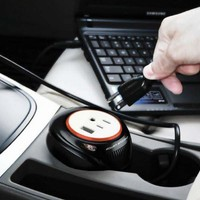 Cup Holder Power Inverter @ Sharper Image