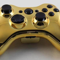 Chrome Custom Xbox 360 Controller