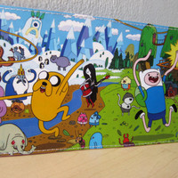 Adventure Time Handmade Wallet