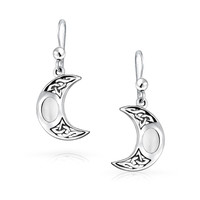 Bling Jewelry Magic Moon Earrings