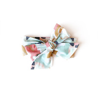 Baby Headwrap Coral Jubilee