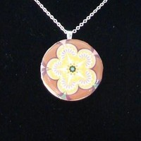Flower Pendant by Lubesa Boutique