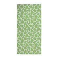 Green Giraffe Pattern Beach Towel> Beach Towels> Heartlocked