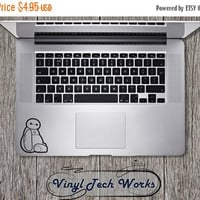 CHRISTMAS SALE 20% OFF Big Hero 6 Decal Baymax Sticker Disney For Apple Macbook Laptop Big Hero Vinyl Sticker