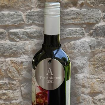 Love The Wine You're With - Personalized Wine Bottle Medallions - Collect Top Wines with Your Own Label