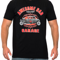 Black Hot Rod T-Shirt