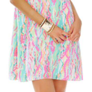 Lilly Pulitzer Cadence Dress Multi Dripping In Jewels
