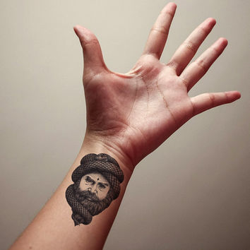 Mind Control Temporary Tattoo