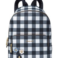 Michael Kors Gingham Large Backpack, Created for Macy's Handbags & Accessories - Macy's