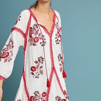 Hadley Embroidered Tunic Dress