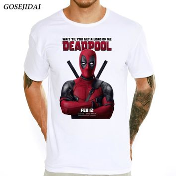 Deadpool Dead pool Taco Men's 2018 Fashion  Poster Printed T-shirt Spring And Summer Short Sleeve Tee Shirts Hipster O-neck Cool Top T shirt A04 AT_70_6