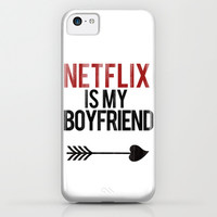 Netflix is my Boyfriend iPhone & iPod Case by RexLambo