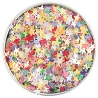 Rainbow Star Edible Glitter