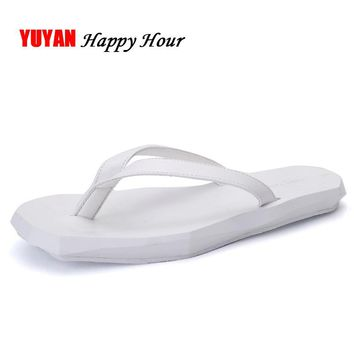 New 2017 Summer Shoes Men Slippers Thick Soft Sole Fashion Men's Slipper Male Brand Beach Slippers Shoes Comfortable ZH2334