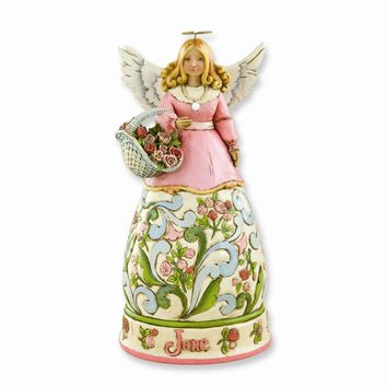 Heartwood Creek June Angel Figurine