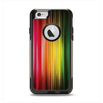 The Straight Abstract Vector Color-Strands Apple iPhone 6 Otterbox Commuter Case Skin Set