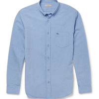 Burberry Brit - Cotton and Linen-Blend Chambray Shirt | MR PORTER