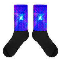 Cyber Love || Black foot socks — Future Life Fashion