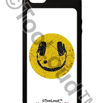 EDM Smiley Face iPhone 5C Grip Case  by TooLoud