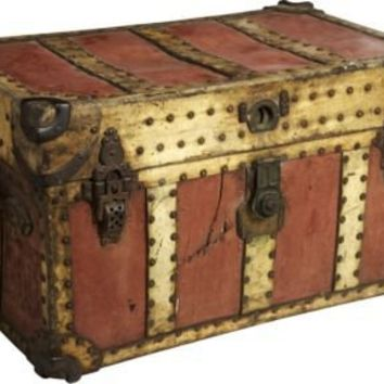 One Kings Lane - Cafiero Select - 19th-C. Carriage Trunk