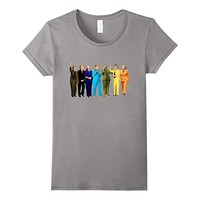 Funny Rainbow Hillary Clinton Pantsuit 2016 Gift T-Shirt