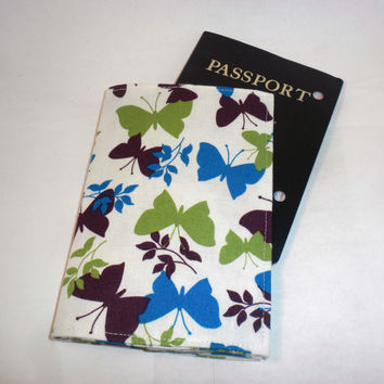 Butterfly Passport Case butterfly passport by redmorningstudios