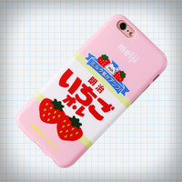 Ichigo Milk iPhone Case from Ice Cream Cake