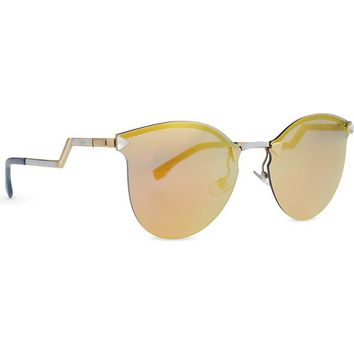 FENDI - FF0040 mirrored round sunglasses | Selfridges.com