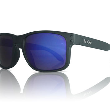 Mavericks Black - Blue Lens