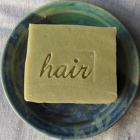 Key Lime Eucalyptus Shampoo Bar - Vegan Shampoo Bar with French Green Clay - Aquarian Bath Shampoo Bar