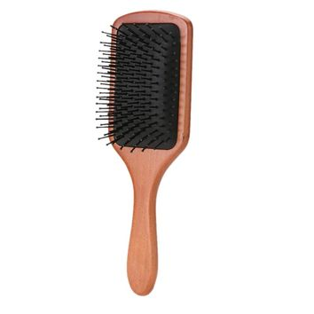 Wooden Paddle Hair Brush