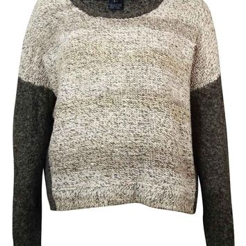 French Connection Women's Twinkle Metallic Sweater