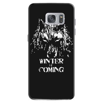 game of thrones direwolf winter is coming Samsung Galaxy S7