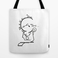 Cogsworth Tote Bag by Jaclyn Celeste