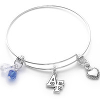 Air Force Academy Falcons Bangle Bracelet