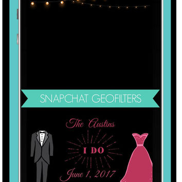 SNAPCHAT GEOFILTER, Custom Snapchat Geofilter, Wedding geofilter, Snapchat Fillter,  Snapchat Geofilter, Personalized Filters,
