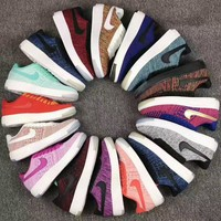Nike Air AF1 FLYKNIT LOW Fashion Women Casual Running Sport Shoes