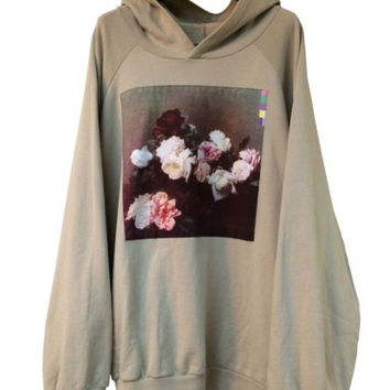 Indie Designs Raf Retro New Order Power Corruption and Lies Hoodie