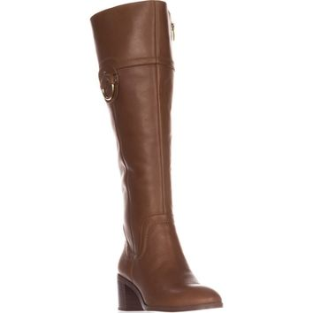 Franco Sarto Beckford Wide calf Knee-High Fashion Boots, Whiskey, 8 US / 38 EU