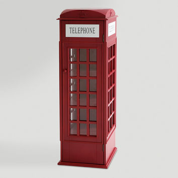 Phone Booth Cabinet - World Market