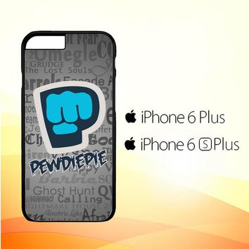 Pewdiepie Brofist Logo C0054 iPhone 6 Plus|6S Plus Case