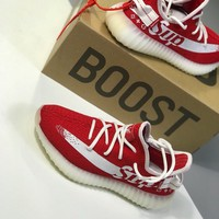 Yeezy Boost 350 V2 x Supreme Shoes 36-45