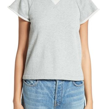 T by Alexander Wang French Terry Top | Nordstrom
