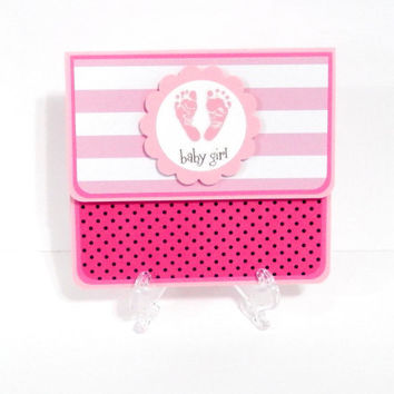Gift Card Holder, Gift Card Envelope, Gift Card Box, Money Holder- Baby Girl