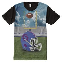Sport Over Printed T-Shirt All-Over Print T-shirt