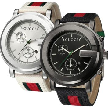 Gucci Gold Silver Black White watch jewelry Trending men and women style