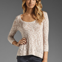 Soft Joie Rodney Metallic Sweater in Woodrose from REVOLVEclothing.com
